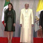 Francisco, o primeiro Papa recebido no Palácio Nacional do México