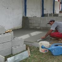 Construção da Conveniência ao lado do rincão da Anunciação