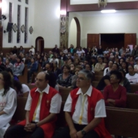 Missa das Mãos Ensanguentadas de Jesus em Aparecida/SP